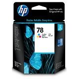 HP Tri-Color Ink Cartridge 78 [C6578DA]